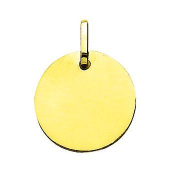 Placa de ouro 750/1000 (18K) amarela