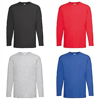 Mens Value Long Sleeve Casual T-Shirt