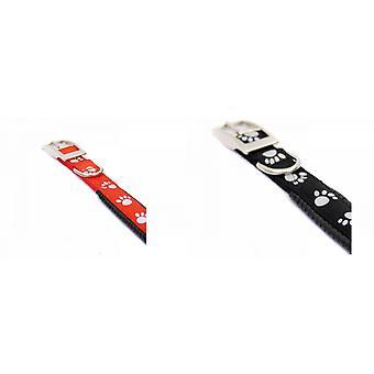 Rosewood Reflective Soft Protection Nylon Padded Dog Collar
