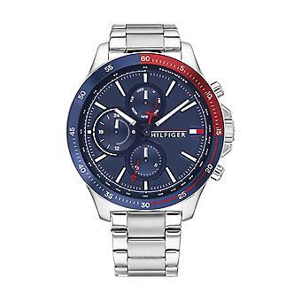 Tommy Hilfiger Watch Watches 1791718 - Heren BANK Horloge