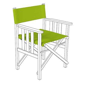 Lime Green Director stoelen vervanging Polyurethaan Gecoate Canvas Covers Garden
