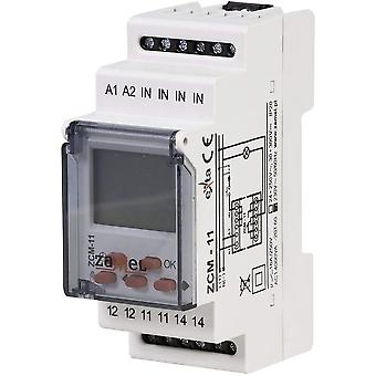 Digital Programmable Timer Relay Zamel ZCM-11 230VAC