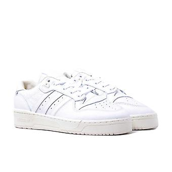 Adidas Originals Rivalry Low GORE-TEX White & Cream Detail Leather Trainers