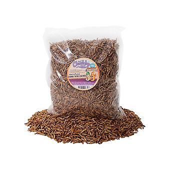 1kg dried chubby mixes (mealworms & calci worms)