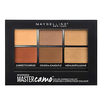 Maybelline New York Facestudio Master Camo Color Correcting Kit, Deep 300, 6 g