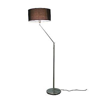 Design Floor lamp Kaja FL with black lampshade 164 cm 10262