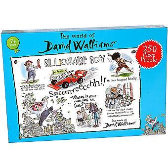 David Walliams Billionaire Boy 250 Stuk Puzzel