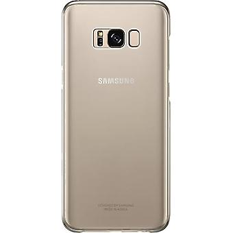 Samsung Clear Cover EF-QG955 for Samsung G955F S8 Plus gold