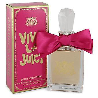 Viva la juicy eau de toilette spray by juicy couture   544142 100 ml