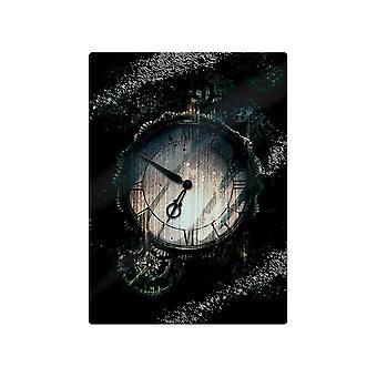 Grindstore Steampunk Timekeeper Glass Chopping Board