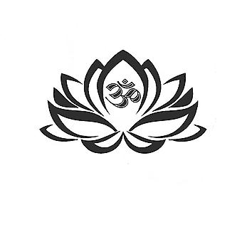 PVC lotus wall sticker