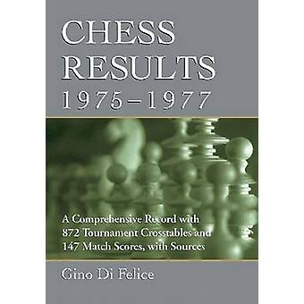 Chess Results - 1975-1977 - A Comprehensive Record with 872 Tournament