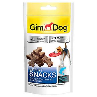 Gimdog Sportsnacks With Cod (Dogs , Treats , Biscuits)