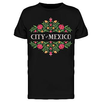 City Of Mexico Tee Men's -Image by Shutterstock