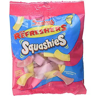 Swizzels Squashies Refreshers Flavour 1.6kg, bulk sweets, 10 packs of 160g