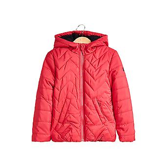 Esprit Girls' Padded Quilted Jacket With A Hood