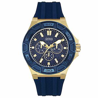 Guess W0674G2 Chronograph Quartz with Silicone Strap Men's Watch