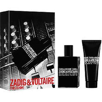 Zadig & Voltaire - Das ist er! SET EDT 50 ml + Duschgel 75 ml - 50ML