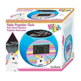 Lexibook Unicorn Radio projector Alarm Clock (RL975UNI)