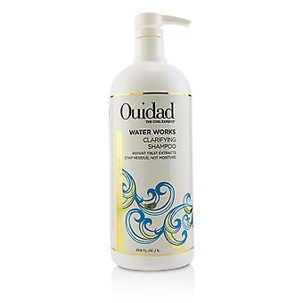 Water works clarifying shampoo (curl essentials) 219776 1000ml/33.8oz