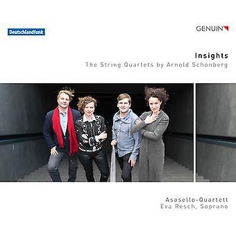 Schonberg / Asasello-Quartett / Resch - Insights String Quartets by Arnold Schoenberg [CD] USA import