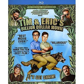 Tim & filme de bilhões de dólares [BLU-RAY] EUA de Eric importar