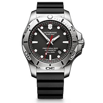 Victorinox Swiss Army Watches 241733 I.n.o.x. Professional Diver Black Rubber Men's Watch
