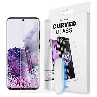 solid UV lys herdet glass for Samsung Galaxy S20