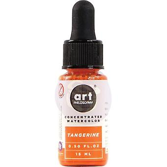 Art Philosophy Concentrated Watercolor Tangerine