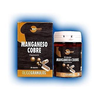 Manganese-Copper Oligogranules 50 capsules