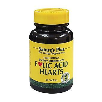 Hjerter Folinsyre 90 tabletter