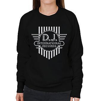 DJ International Records Cross Logo Women's Sweatshirt
