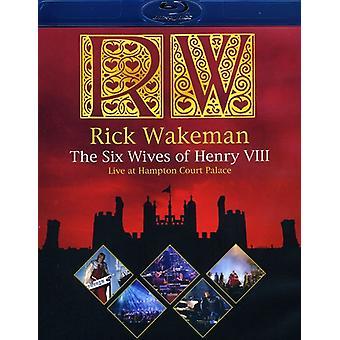 Rick Wakeman - Six Wives of Henry VIII-Live at Hampton Court Pala [Blu-ray] USA import