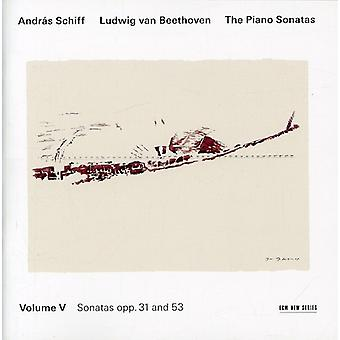 L.V. Beethoven - Beethoven: The Piano Sonatas, Vol. 5 - Opp. 31 and 53 [CD] USA import