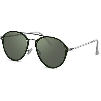 النظارات الشمسية المرأة بانتو غراي / الأخضر (CWI2237)