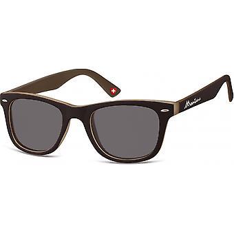 Solbriller Unisex av SGB brun (M42)