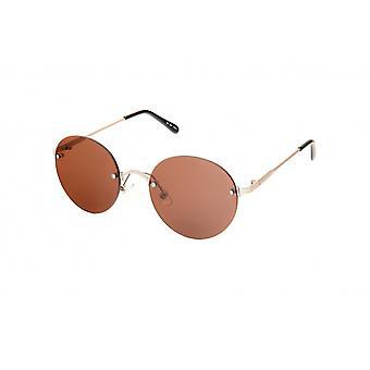 Gafas de sol Unisex plata/marrón (20-118)