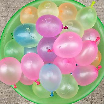 11111pcs Multicolor Latex Water Balloons With Refill - Water Bomb Ball Fight