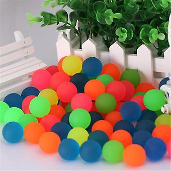 10pcs/lot Children Ball Toy Colored Bouncing Ball Rubber Outdoor Kids Sports Toys - Elastic Juggling Jumping Games Balls