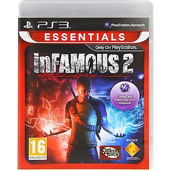 Infamous 2 Essentials PS3 Game