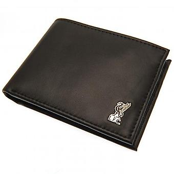 Liverpool Metal Crest Leather Wallet