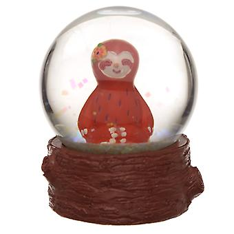 Collectable Sloth Snow Globe Waterball X 1 Pack
