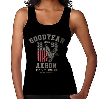 Goodyear Akron Fly With Eagles Women's Vest
