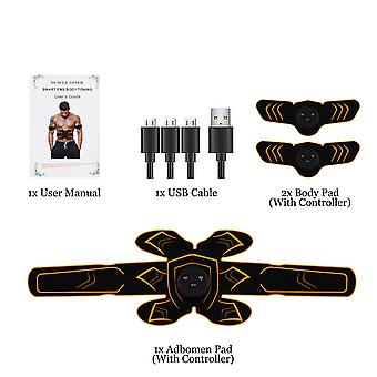 Abs stimulator ems usb rechargeable muscle trainer toner