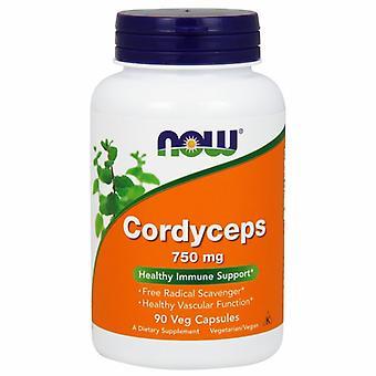 Nyt Foods Cordyceps, 750 mg, 90 Vcaps