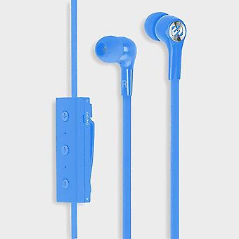 New Scosche BT100 Wireless Earbuds with Mic + Controls Blue