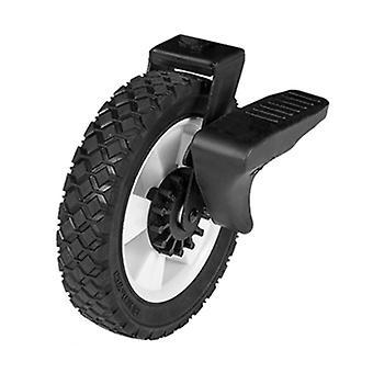 Alwaysme 1pcs 8x1,75-inch semi-pneumatische rubberen vervangende remwielen