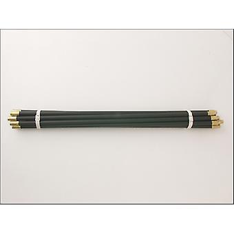 Wootton Drain Rods Polypropylene Black Standard (Set of 10) BBDR3RRS