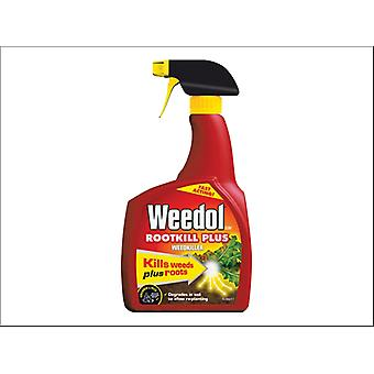 Miracle Weedol Rootkill Plus Ready to Use Gun 1L