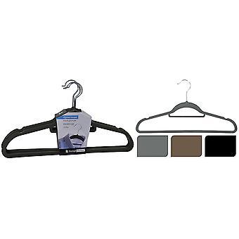 Soluções de armazenamento Felt Coat Hanger x 5 Sorted CY5653060